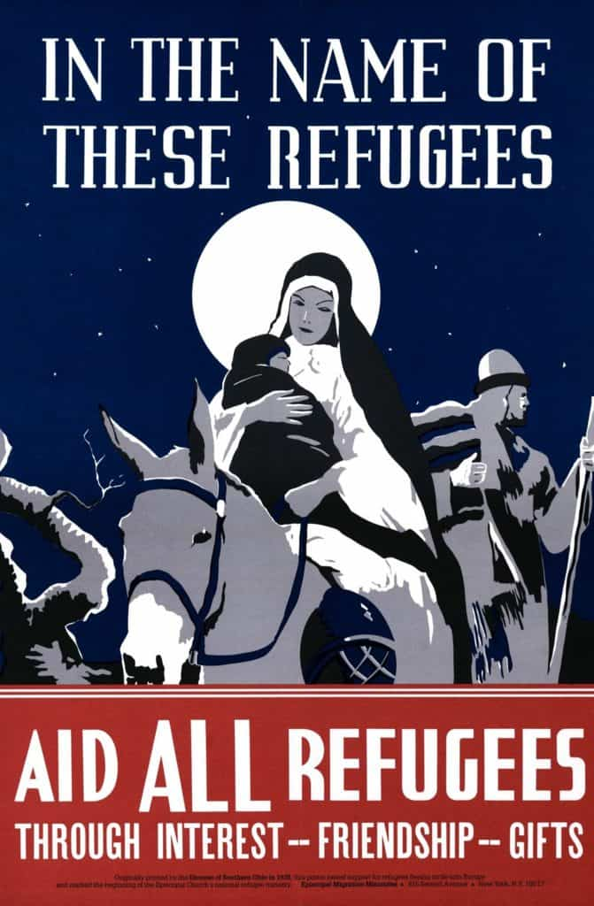 In the Name of these Refugees poster