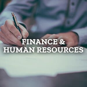 Finance and Human Resources