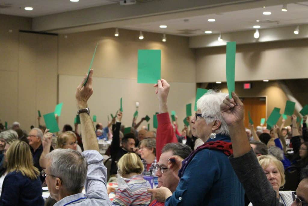 green cards at Convention
