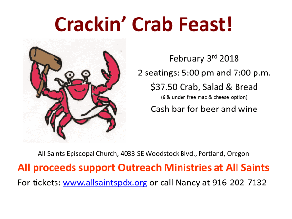 All Saints Diocese Of Portland | Lobster House