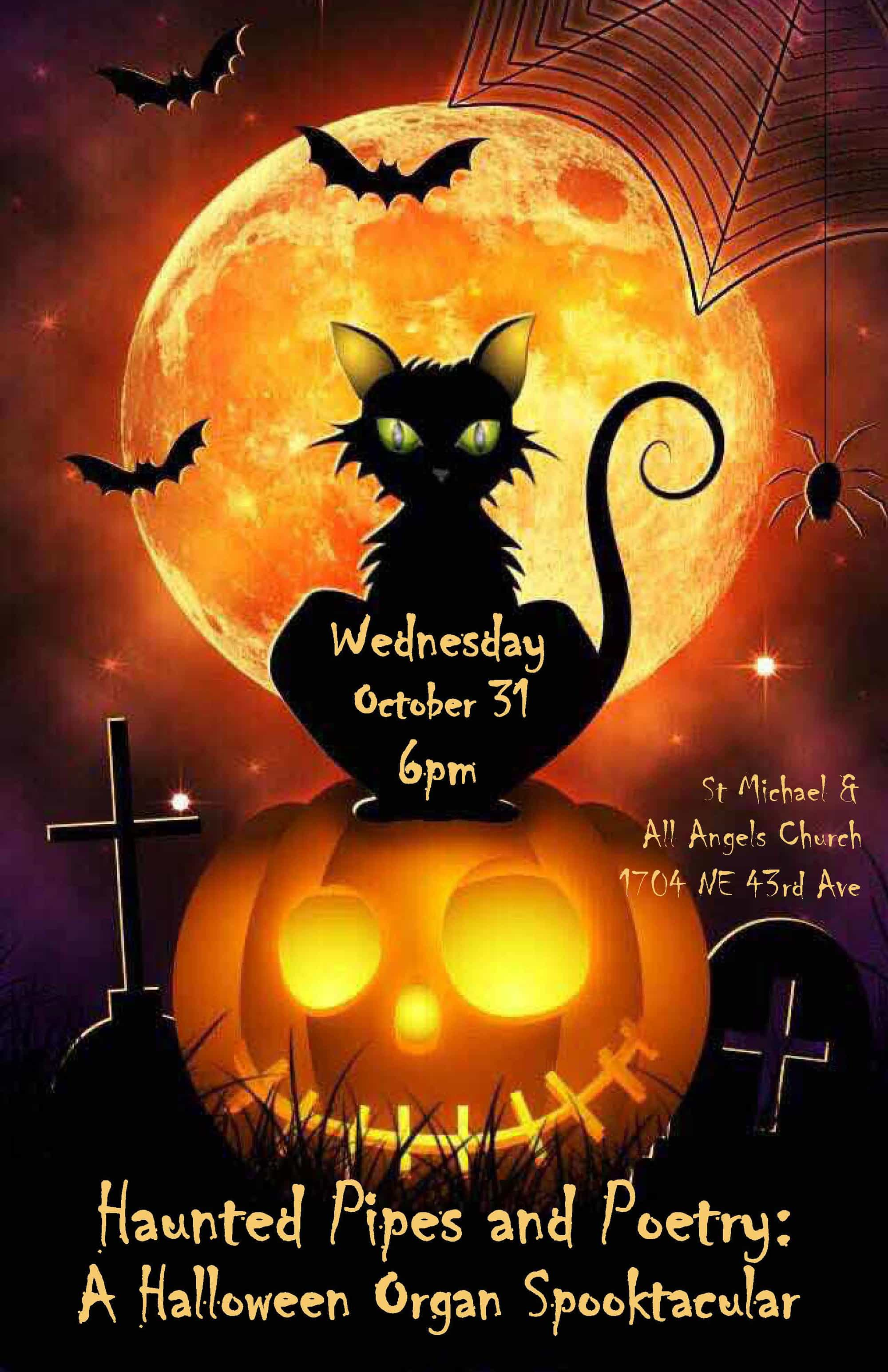 Haunted Pipes and Poetry: A Halloween Organ Spooktacular - Episcopal