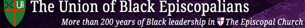 website header of the Union of Black Episcopalians